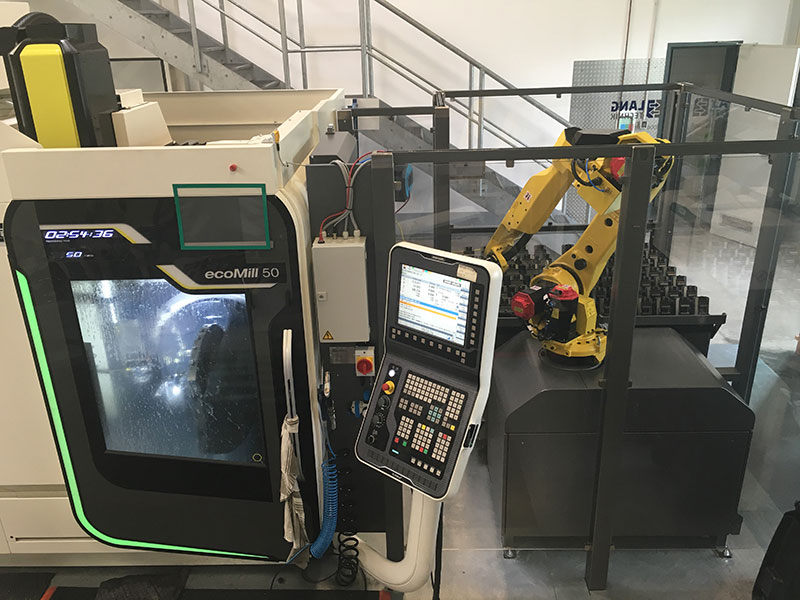 DMG ecoMill50 5-Achsen Bearbeitungszentrum